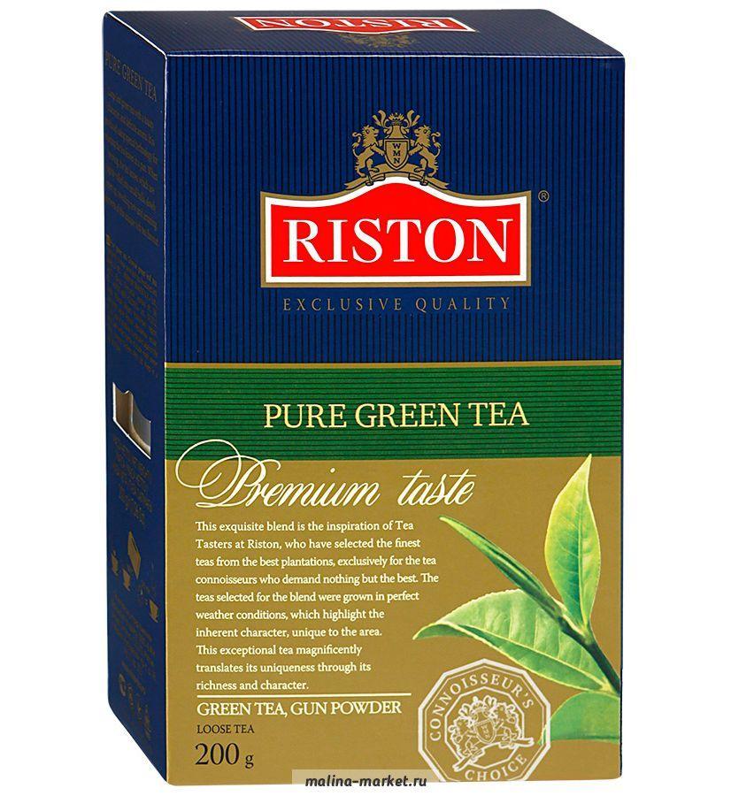 Зеленый чай riston